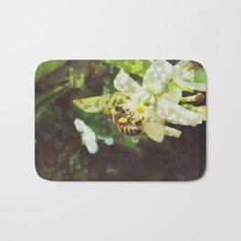 Honey Bee: Emerald Bath Mat