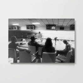 Bowling #3 Metal Print