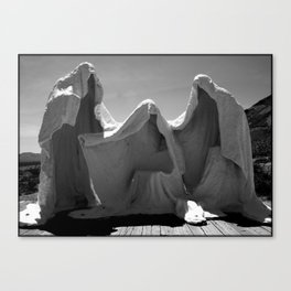 In Threes Canvas Print