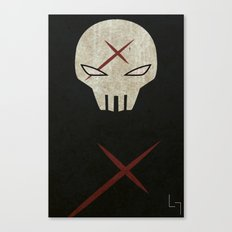 Red X Canvas Print