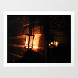 Candlelight Tours Art Print