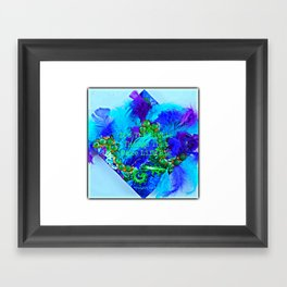 It's The Little Things That Make Life Big Framed Art Print