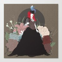 baroque Canvas Prints featuring Baroque by Nicole DeCaria