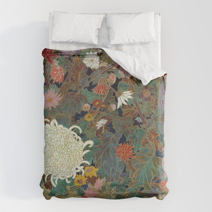 flower【Japanese painting】 Bettbezug