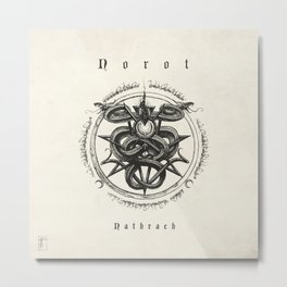 Norot ~ Nathrach album cover  Metal Print