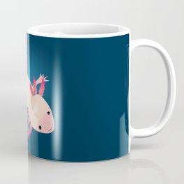 Axolotl in the water Coffee Mug