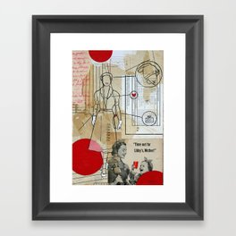 what it takes Framed Art Print