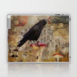 Raven in a City Laptop & iPad Skin