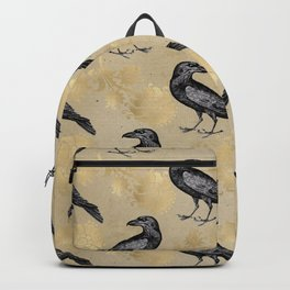 Vintage Crow Backpack