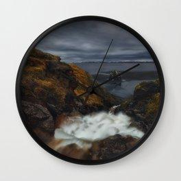 Guard Of The Ocean Wall Clock
