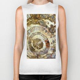 Abstract mineral texture Biker Tank