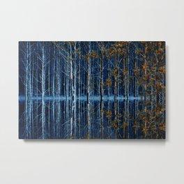 FOREST FLOOD Metal Print