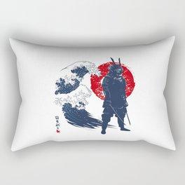 Wave Samurai Rectangular Pillow