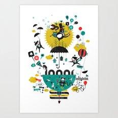Perfect Day Art Print
