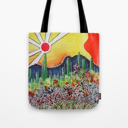 Nature's City Tote Bag
