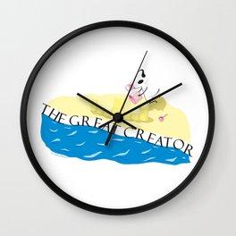 The Creator Wall Clock