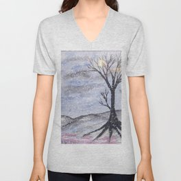 Bare Winter Mix Unisex V-Neck