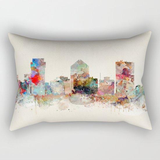 wichita kansas Rectangular Pillow