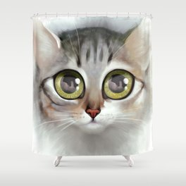 Kitten 4 Shower Curtain