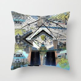 Summer space, smelting selves, simmer shimmers. 24 Throw Pillow