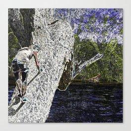 Climbing to Nirvana Canvas Print