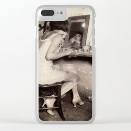 8754 Clear iPhone Case