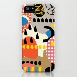 The sorcery of color n° 1 iPhone Case