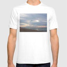 Contrawave MEDIUM White Mens Fitted Tee