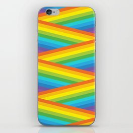 Rainbow Stripes iPhone Skin