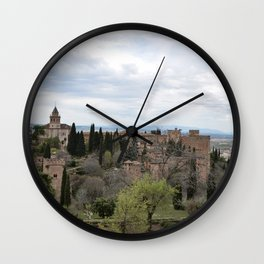 View Toward Alhambra Wall Clock
