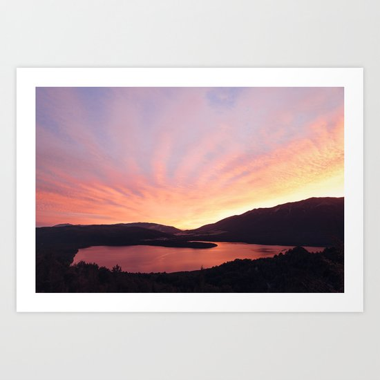 Lake Rotoiti Art Print