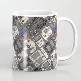 Video Game Controllers in True Colors Coffee Mug