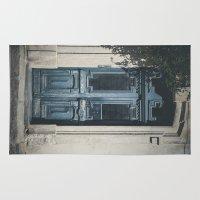 italian Area & Throw Rugs featuring Italian Door II by Maria Heyens