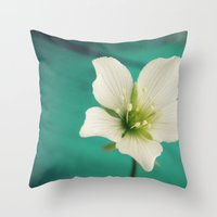 venus Throw Pillows featuring Venus by Victoria Spahn