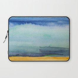 watercolor beach Laptop Sleeve