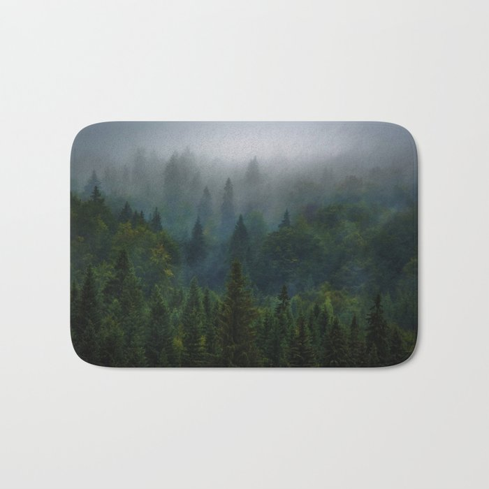 I dream in evergreen Bath Mat