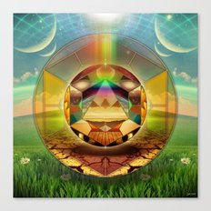 ∆ conjoin Canvas Print