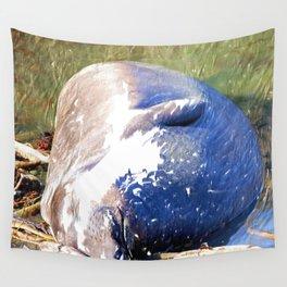 Napping Elephant Seal, San Simeon CA Wall Tapestry