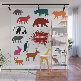 #FurFree ! Wall Mural