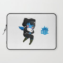 Fuzzy Chibi Luc (Expression 2) (no cloud) Laptop Sleeve