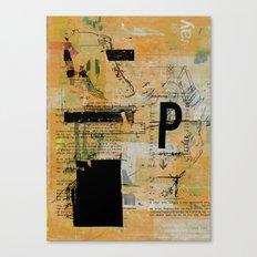 misprint 55 Canvas Print