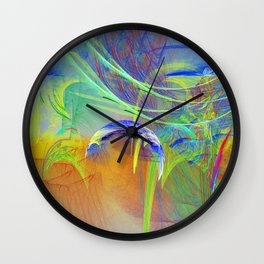 Chaotic worlds collide Wall Clock