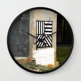 Sol Lewitt Rough Draft (2), North Adams Wall Clock