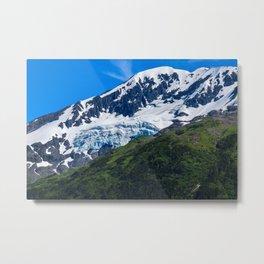 Whittier Glacier - 3 Metal Print
