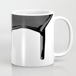 Black paint drip Coffee Mug