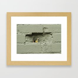 Plastic Age Framed Art Print