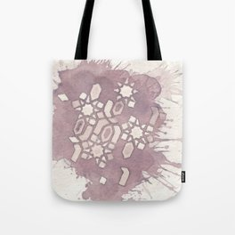 Cellular Geometry Tote Bag
