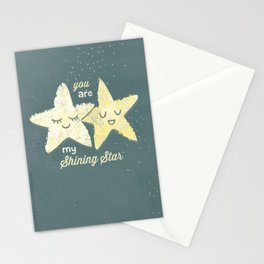 You are My Shining Star Stationery Cards