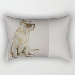 The Coolest Cat Rectangular Pillow