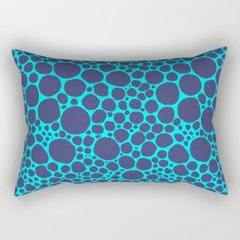 Blue Frog Rectangular Pillow